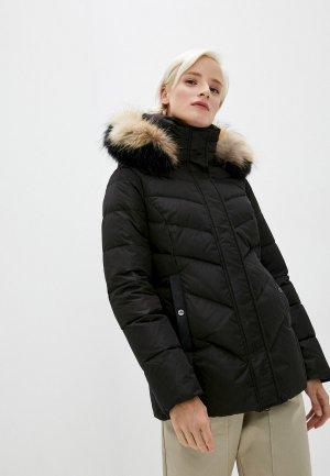 Куртка утепленная Hetrego. Цвет: черный