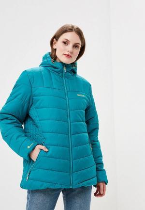 Куртка утепленная Regatta. Цвет: бирюзовый