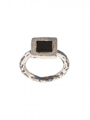 Серебряное кольцо Guidi. Цвет: серебристый