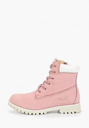 Тимберленды Patrol. Цвет: розовый