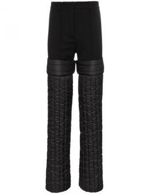 Дутые брюки Colmar A.G.E. By Shayne Oliver. Цвет: черный