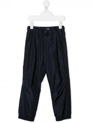 Спортивные брюки с кулиской Il Gufo. Цвет: синий