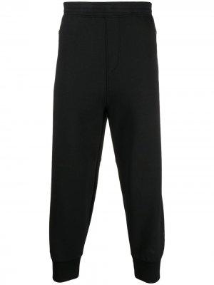 Спортивные брюки с контрастными полосками сзади Neil Barrett. Цвет: черный