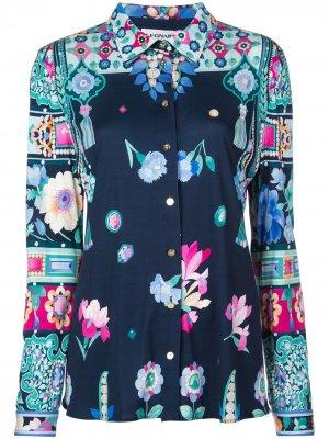 Рубашка Carioca Leonard. Цвет: синий