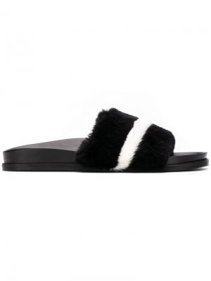 Textured slides Bally. Цвет: черный