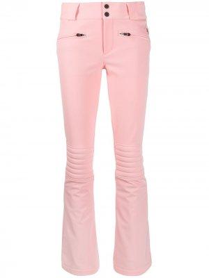 Расклешенные брюки Aurora Perfect Moment. Цвет: розовый