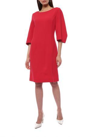 Платье Oscar de la Renta. Цвет: красный