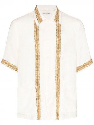 Рубашка Elder Our Legacy. Цвет: белый