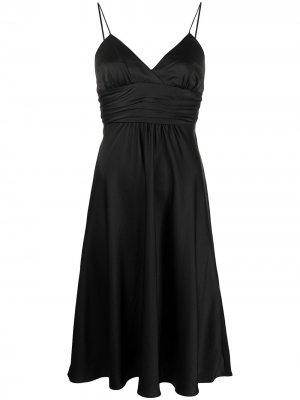 Платье Dixie на бретелях Ba&Sh. Цвет: черный