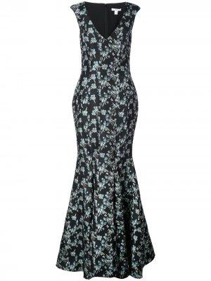 Платье Pilar Zac Posen. Цвет: черный