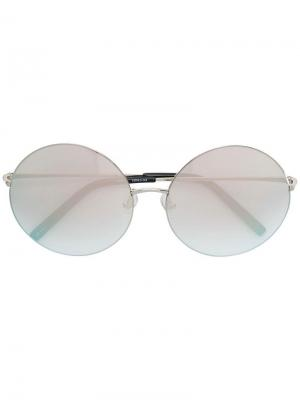 Round sunglasses Matthew Williamson. Цвет: металлик