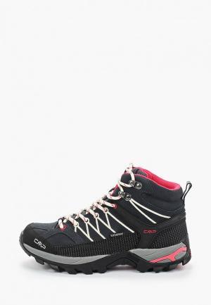 Ботинки трекинговые CMP. Цвет: серый