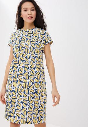 Платье Savage. Цвет: желтый