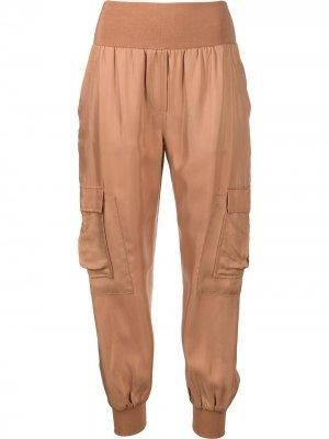 Зауженные брюки Giles Cinq A Sept. Цвет: коричневый