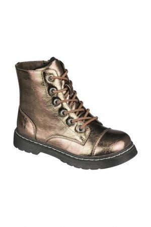 Ботинки INDIGO KIDS. Цвет: золотой
