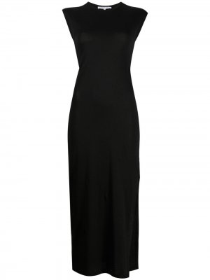 Платье миди Le Muscle FRAME. Цвет: черный