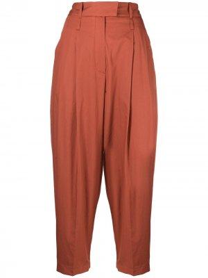 Укороченные брюки Jejia. Цвет: оранжевый