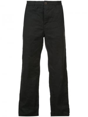 Прямые брюки Individual Sentiments. Цвет: черный