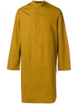 Удлиненная туника Qasimi. Цвет: жёлтый и оранжевый