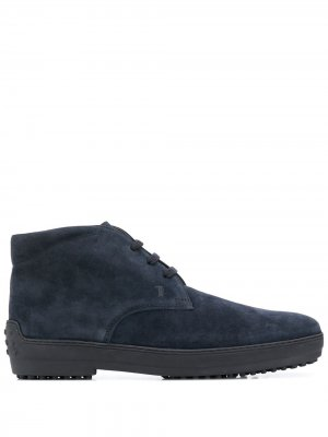 Tods ботинки дезерты Tod's. Цвет: синий