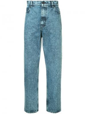 Зауженные джинсы Denzel Stella McCartney. Цвет: синий