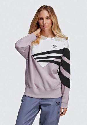 Свитшот adidas Originals. Цвет: фиолетовый