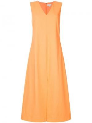 Платье Ck Calvin Klein. Цвет: желтый