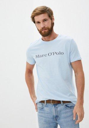 Футболка Marc OPolo O'Polo. Цвет: голубой