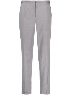 Зауженные брюки с завышенной талией Fabiana Filippi. Цвет: серый