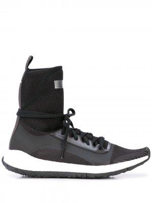 Кроссовки Consortium UltraBoost adidas by Stella McCartney. Цвет: черный