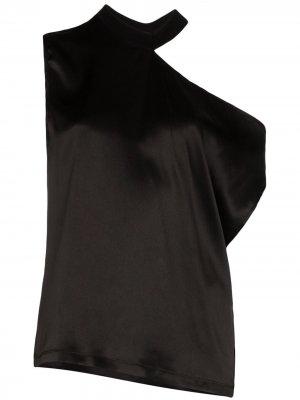 Блузка Axel на одно плечо RtA. Цвет: черный