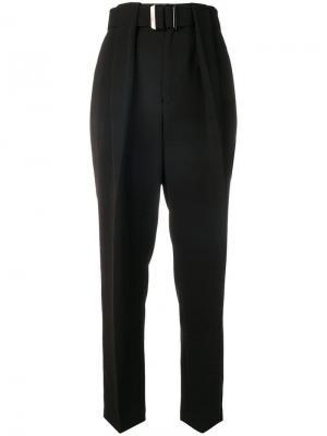Классические брюки с высокой талией Neil Barrett. Цвет: черный