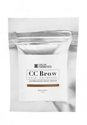 Хна для бровей CC Brow. Цвет: коричневый