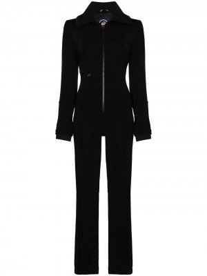 Лыжный костюм Maria Fusalp. Цвет: черный