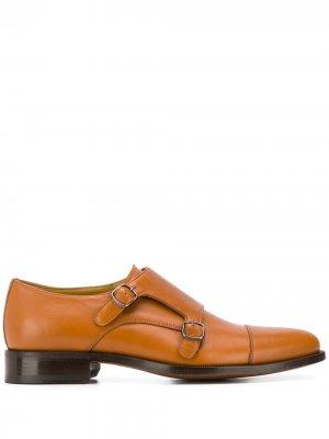 Туфли монки Scarosso. Цвет: коричневый