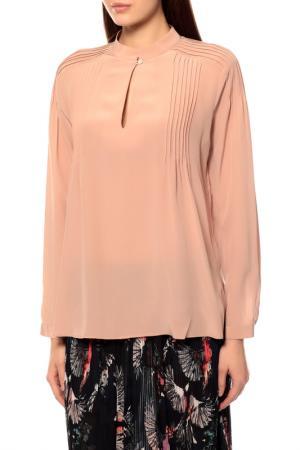 Блуза BRIAN DALES. Цвет: бордовый