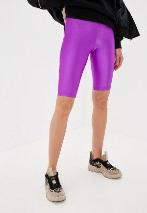 Шорты спортивные Pink Frost. Цвет: фиолетовый