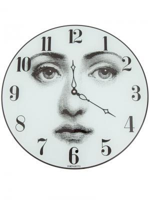 Часы с принтом лица Fornasetti. Цвет: серый