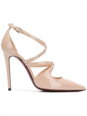 Туфли-лодочки с ремешками Deimille. Цвет: нейтральные цвета