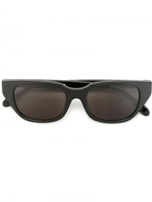 Солнцезащитные очки Cento Black Retrosuperfuture. Цвет: черный