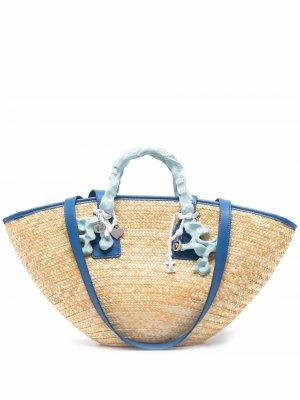 Пляжная сумка Ottolinger. Цвет: нейтральные цвета