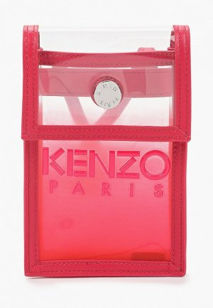 Сумка Kenzo. Цвет: красный