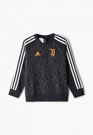 Свитшот adidas. Цвет: черный