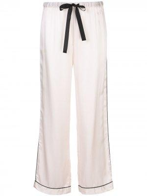 Пижамные брюки Parker Morgan Lane. Цвет: розовый