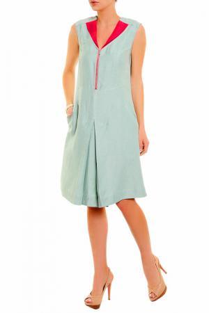 Платье BGN. Цвет: mist green-dark sugar