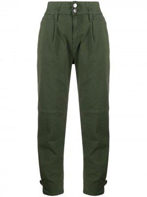 Зауженные джинсы Monika Veronica Beard. Цвет: зеленый