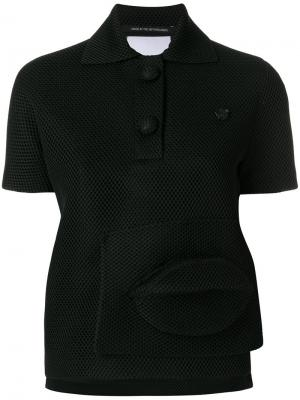 Рубашка Capsule Polo 1.2 Viktor & Rolf. Цвет: черный