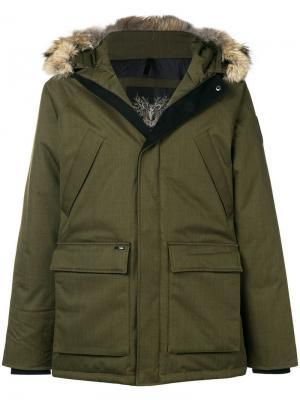 Heritage parka jacket Nobis. Цвет: зеленый