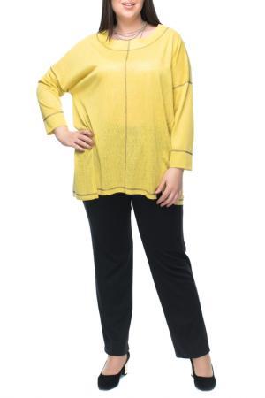 Блуза Leshar. Цвет: желтый