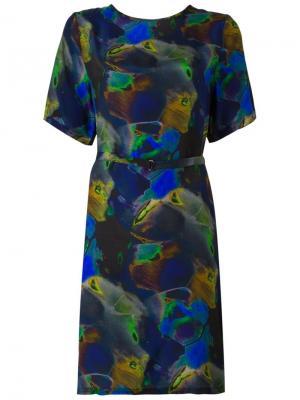 Платье Ebone Minimarket. Цвет: разноцветный